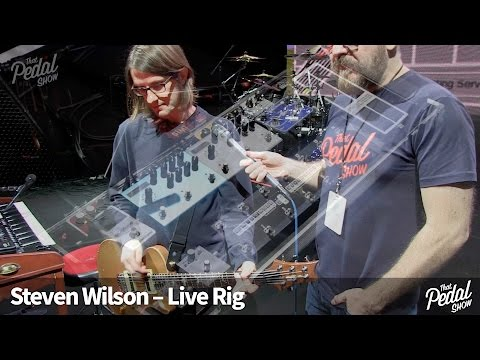 That Pedal Show – Steven Wilson's Live Rig 2016. On Stage In Bristol, UK