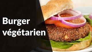 Cuisine Healthy - Burger végétarien