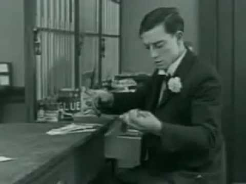 Buster Keaton in The Haunted House 1921