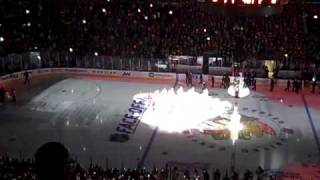 Chicago Blackhawks raise the banner at the United Center (part 4)