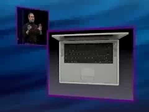 Macworld 2001 SF PowerBook G4 Titanium Intro