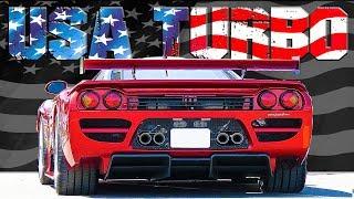 ТОП 10 Лучших Американских ТУРБО Автомобилей Всех Времён