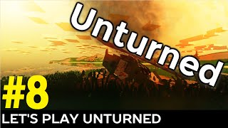 Let's Play Unturned Episode 8 - Building My First Base
