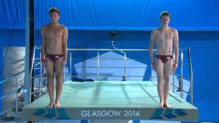 Tom Daley and James Denny synchro