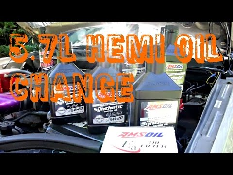 2012 jeep grand cherokee 5.7 oil change
