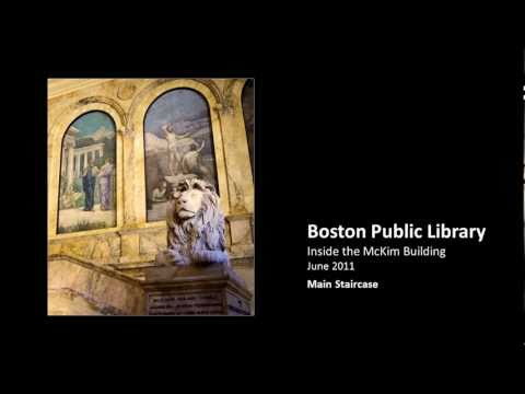 Boston Public Library: Inside the McKim Building - June 2011 (The Friday Special)