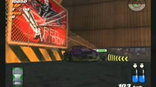 Destruction Derby Arenas (ps2) Playthrough Part 1 - Round 1