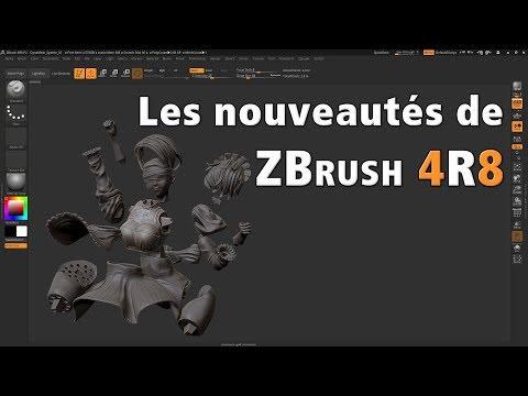 Les nouveautés de ZBrush 4R8 par Polysculpt.com