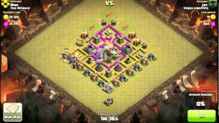 Clash of Clans: Clan War Moo's Most Heroic Defense- War on 8-26