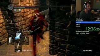 Dark Souls any% NG+ Kiln Glitch speedrun - 17:59 IGT