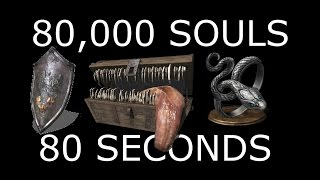 DARK SOULS 3: 80,000 Souls in 80 Seconds