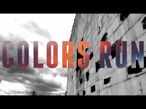 House of Heroes - Colors Run OFFICIAL LYRIC VIDEO