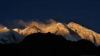 Night view of Rakaposhi mountain Hunza