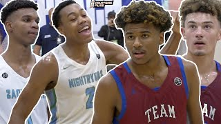 Jalen Green and Baby Dev TAKE ON Scottie Barnes and Zay Todd! Peach Jam Classic!