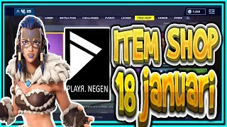 | FORTNITE NL/BE | ITEM SHOP 18 January 2019 | FYRA & JAEGER Skins Playr Nine (English)