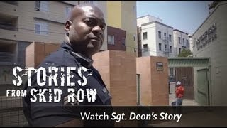 Ride Along With The LAPD Through Skid Row | Union Rescue Mission