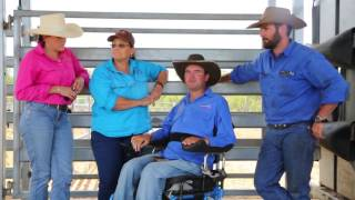 Cook family talk about managing livestock