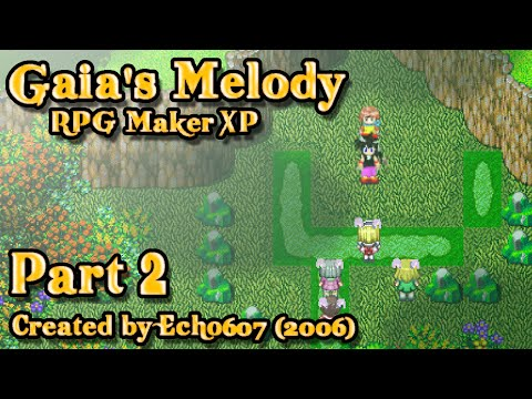 Let's Play Gaia's Melody (RMXP) - Part 2: Bunny Girl Village!