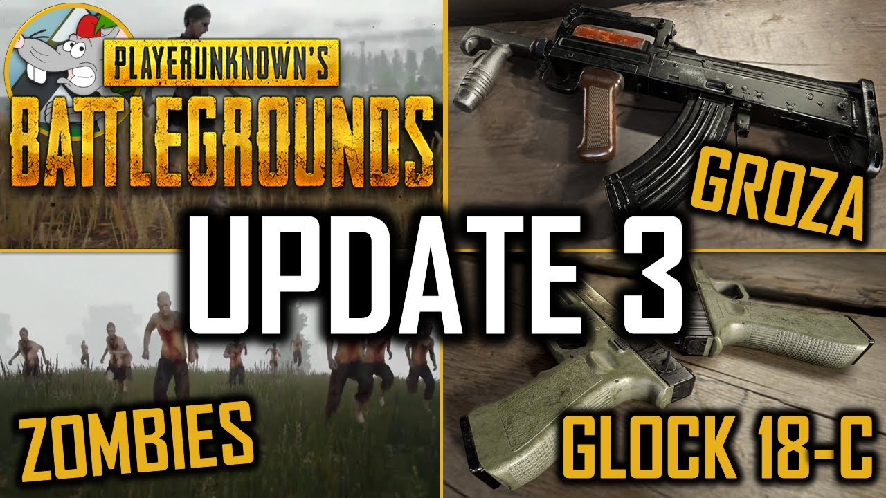 Playerunknown S Battlegrounds Gets New Update With Bug: PlayerUnknown's Battlegrounds Update 3 New Zombies