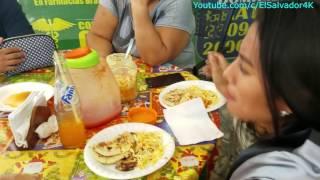 Paramos por unas ricas pupusas para el desayuno. Una Aventura Extrema en El Pital. Parte 4/31