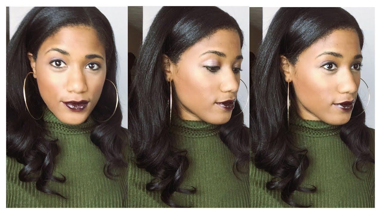 Hair Review 100 Peruvian Human Hair Beauty Supply Hair Youtube