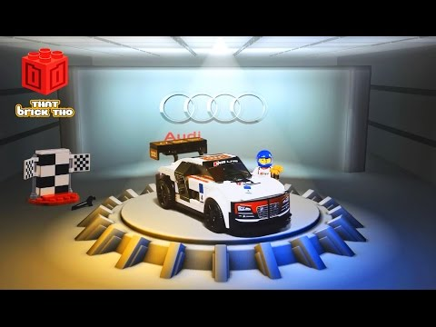 Lego Speed Champion Audi R8 LMS Ultra - Lego animation Teaser - Lego Philippines