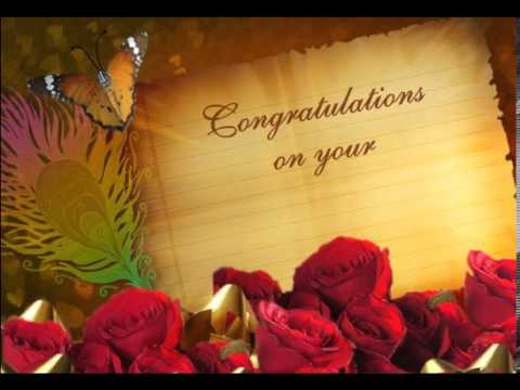 Wedding greetings youtube wedding greetings m4hsunfo