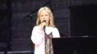 "Emilie (9) - ""Tomorrow"" from Annie - LIVE"