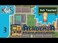 Academia: School Simulator Ep 3: CALL A NURSE!  I'M FEELING ILL - First Look - Let's Play, Gameplay