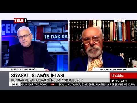 18 Dakika - (15 Kasım 2018) Merdan Yanardağ & Prof. Dr. Emre Kongar   Tele1 TV