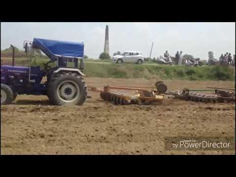 newholland || swaraj || farmtrac || powertrac || preet || johndeere || maseey || pulling disk harrow