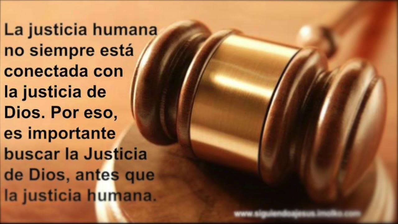 LA JUSTICIA DE DIOS. VS LA JUSTICIA NUESTRA SALMO 35