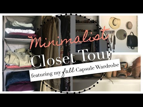 Minimalist Closet Tour | Sustainable Living