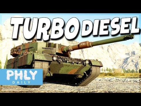 NEW DM23 Round & Protection Analysis First Impressions (War Thunder Leopard 2A4 Gameplay)