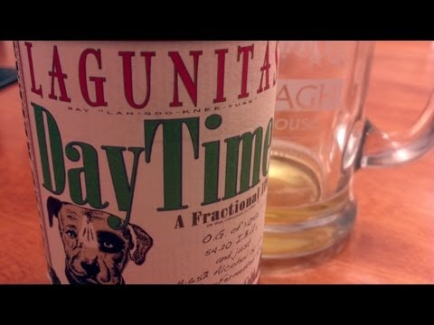 Lagunitas Daytime Fractional IPA - #501 - Maxwell Starr's Beer Review