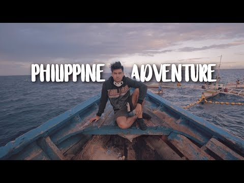 WE SPENT 24 HOURS ON A FISHING BOAT IN THE PHILIPPINES!!