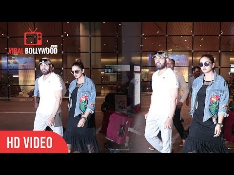 Huma Qureshi And Shera Salman Khan Bodyguard Spotted At Mumbai Airport   Viralbollywood