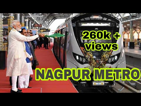NAGPUR METRO FIRST RIDE / bardi to khapri
