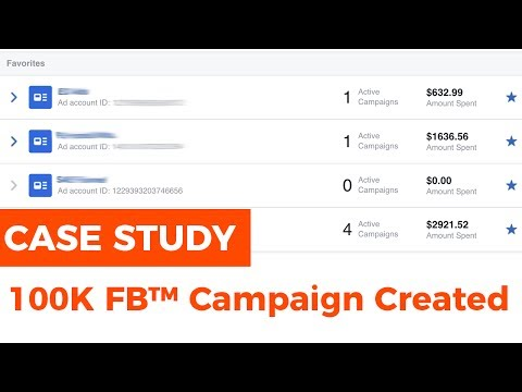 CASE STUDY: Creating FaceBook™ Lead Campaigns That Generate 6 Figures
