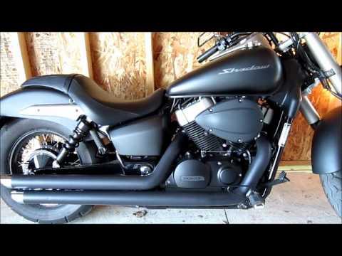 Great 2012 Honda Shadow Phantom Exhaust
