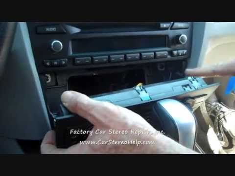 Bmw 3 Series Car Stereo Removal 2006 Youtube