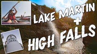🚣🏻♀️ LAKE MARTIN & HIGH FALLS!! 🌊 (with LAUREN!!)