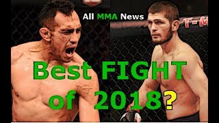 Tony Ferguson vs. Khabib Nurmagomedov - BEST FIGHT OF 2018?
