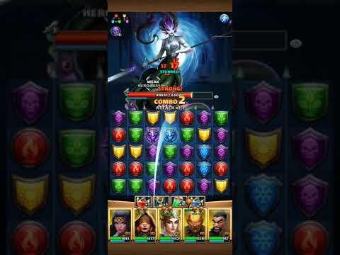 Ursena On Hard Vs All Yellows - Empires And Puzzles