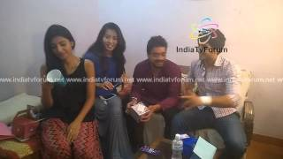 Harshita, Param, Prince, & Homring Stars of Sadda Haq Gift Segment Part 1