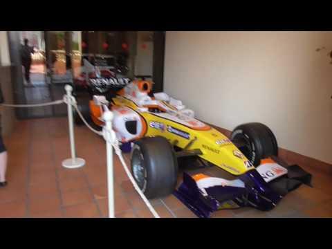Monaco Car Museum Outside The Location