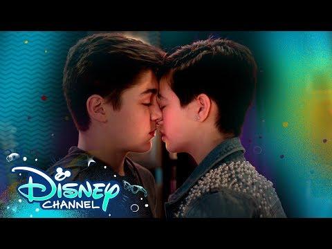 Jonah And Andi Kiss 💋 | Andi Mack | Disney Channel