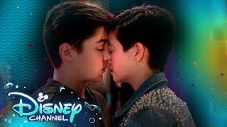 Jonah and Andi Kiss 💋   Andi Mack   Disney Channel YouTube Videos