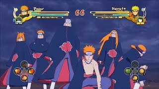 Naruto Ultimate Ninja Storm 3 Full Burst Pain Custom Moveset Mod Gameplay (PC)