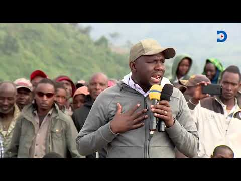 Emotional Murkomen blames 'handshake' for Mau eviction, says his majority seat is in danger